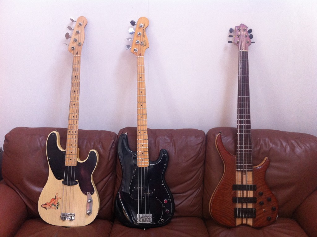 Tom Sinnett Blog - Bass Collection at StudiOwz