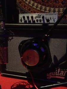 Tom Sinnett Aguilar Amp at StudiOwz